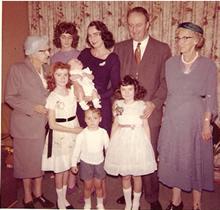 My family, 1960