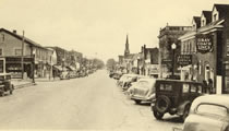 Downtown Oakville, 1930s