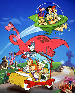 The Jetsons and the Flinstones