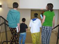 Students in Pyjamas