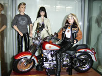 Barbie on her Harley