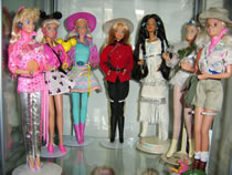 A Variety of Barbies