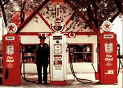 Full Service Gas Station circa 1960