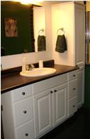 The Bathroom Cupboards