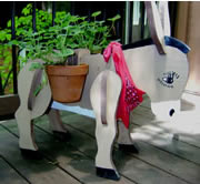 Outdoor Donkey Planter