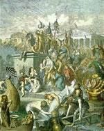 Vandals Sacking Rome by Heinrich Leutemann
