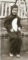 Me as a Panda, Halloween, 1958