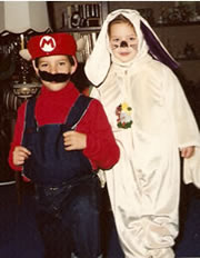 Super Mario meets the Easter Bunny (1989)