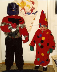 Optimus Prime and the Clown (1988)