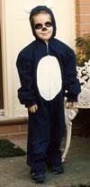 Son #1 as Panda, Halloween 1985
