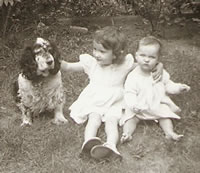 Patches and Me (far right) 1954