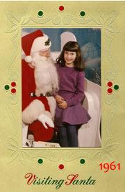 Visiting Santa 1961