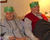 Mom and Dad - Christmas 2007