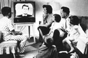 Family TV Watching 1960s