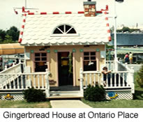 Gingerbread House at Ontario Place