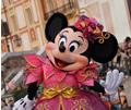 Minnie Mouse at Disneyland