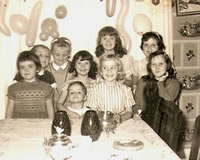 Seventh Birthday - 1960