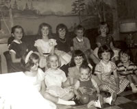 Eighth Birthday - 1961
