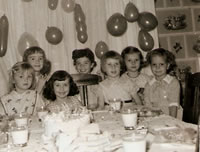 Fifth Birthday - 1958