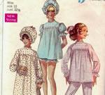 Pyjama Pattern 1960s