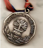 Silver Attendance Medal