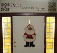 Santa on the Door