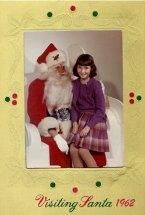 Visiting Santa 1962