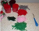 Rug hooking yarn