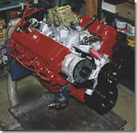 Big Block Chevy Engine