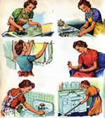 Does anyone really see this as 'woman's work' anymore?