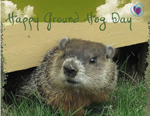 Happy Groundhog Da