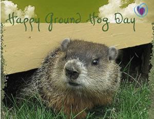 Happy Groundhog Da