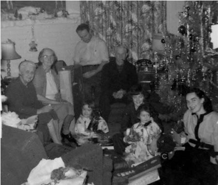 Family Christmas 1956